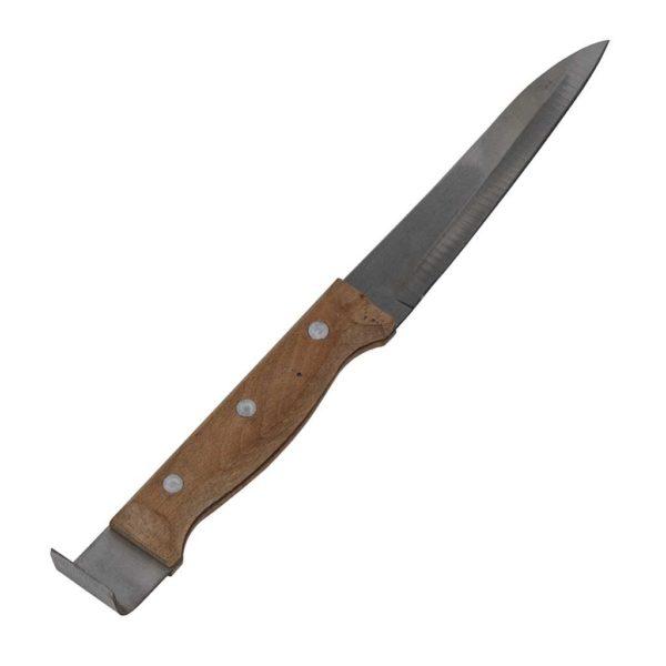 Ξέστρο Μαχαίρι με Ξύλινη Λαβή Apimax