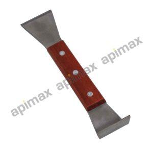 Ξέστρο Διπλό με Ξύλινη Λαβή Apimax