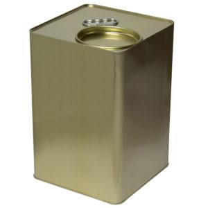 Μεταλλικό Δοχείο-Τενεκές Μελιού Λαδιού & Τροφίμων (Μικρό Καπάκι) 25kg Apimax
