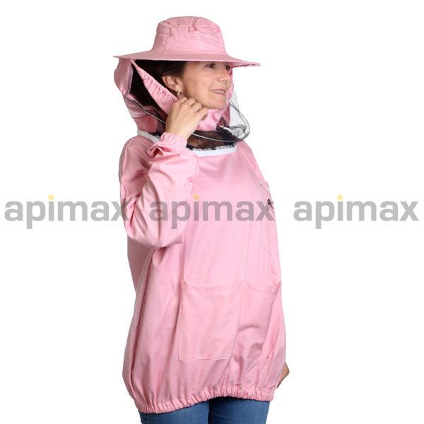 Γυναικεία Μελισσοκομική Μπλούζα με Μάσκα-Προσωπίδα Τούλι-Πανί Apimax