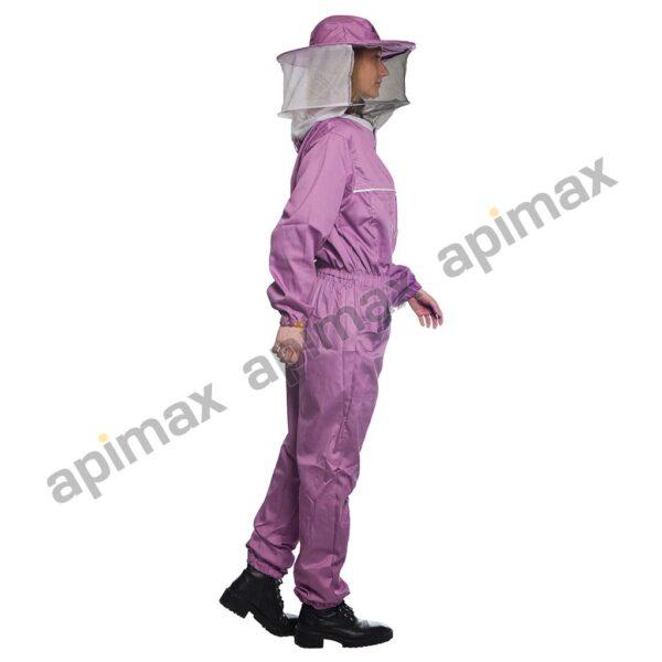 Γυναικεία Μελισσοκομική Ολόσωμη Φόρμα με Μάσκα/Καπέλο Apimax