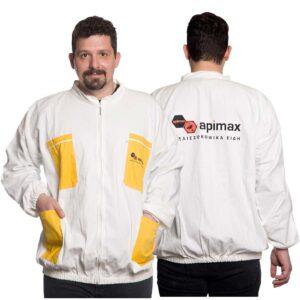 Unisex Μελισσοκομικό Μπουφάν Λευκό Apimax