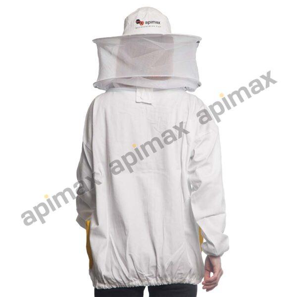 Unisex Μελισσοκομικό Μπουφάν με Μάσκα-Προσωπίδα Τούλι-Τούλι Apimax