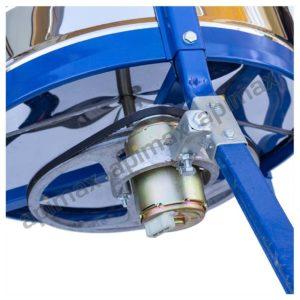 Ηλεκτρικός Μελιτοεξαγωγέας 4 Πλαισίων Μονής Κατεύθυνσης INOX Apimax