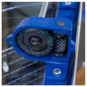 Χειροκίνητος Μελιτοεξαγωγέας 6 Πλαισίων Μονής Κατεύθυνσης INOX Apimax