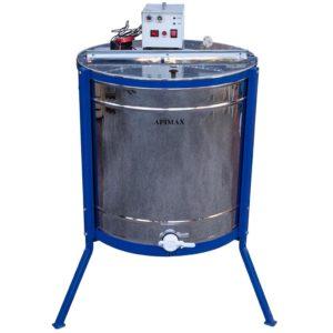 Ηλεκτρικός Μελιτοεξαγωγέας 6 Πλαισίων Μονής Κατεύθυνσης INOX Apimax