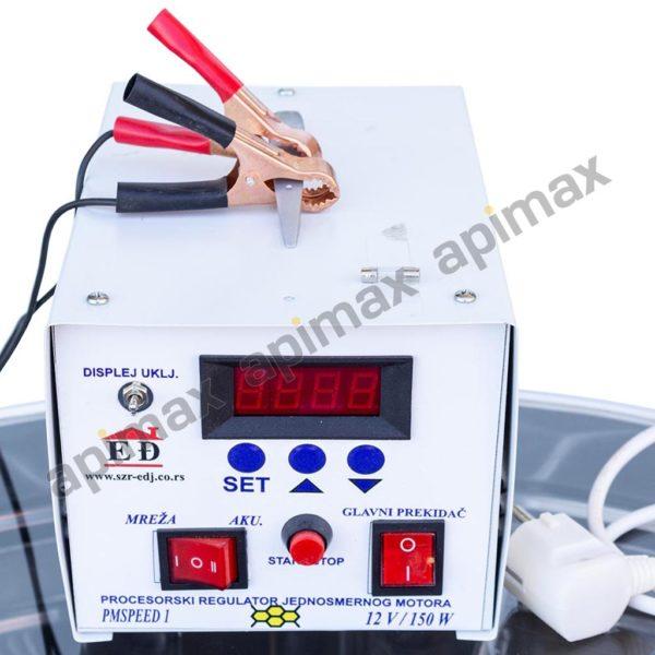 Ηλεκτρικός Μελιτοεξαγωγέας 6 Πλαισίων Αυτόματος Inverter INOX Apimax