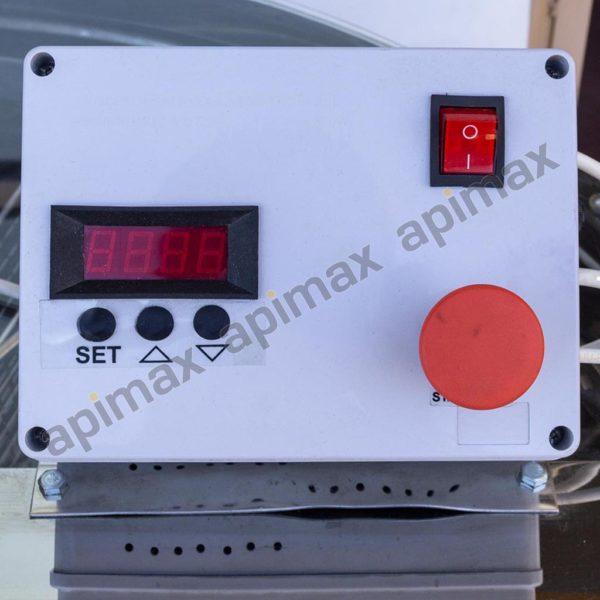 Ηλεκτρικός Μελιτοεξαγωγέας 10 Πλαισίων Αυτόματος Inverter INOX Apimax