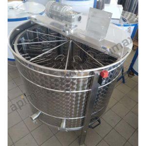 Ηλεκτρικός Μελιτοεξαγωγέας 10 Πλαισίων Αυτόματος Inverter FULL INOX Apimax