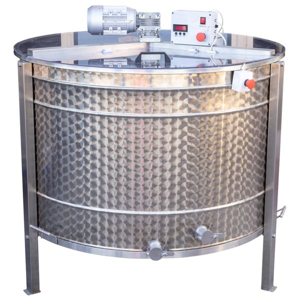 Ηλεκτρικός Μελιτοεξαγωγέας 20 Πλαισίων Αυτόματος Inverter FULL INOX Apimax