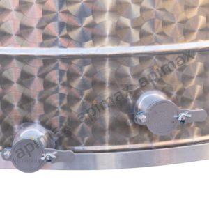 Ηλεκτρικός Μελιτοεξαγωγέας 20 Πλαισίων PROFI Αυτόματος Inverter FULL INOX Apimax