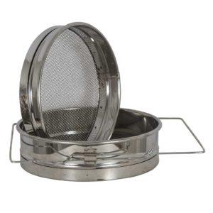 Ανοξείδωτο Φίλτρο Μελιού με Διπλή Σήτα Φ24 ΙΝΟΧ Apimax