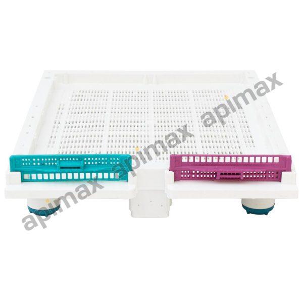 Βάση Κυψέλης Πλαστική Κινητή Διάτρητη Anti-Varroa TECHNOSET