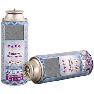 Γκαζάκι – Φιάλη Βουτανίου 227gr/410ml για Ομιχλοποιητή Apimax