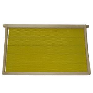 Ξύλινο Τελάρο - Πλαίσιο Συρματωμένο με Κηρήθρα Apimax