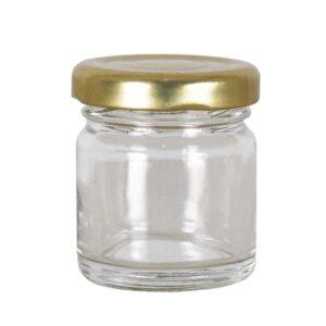 Βαζάκι Γυάλινο 40ml με Καπάκι Apimax