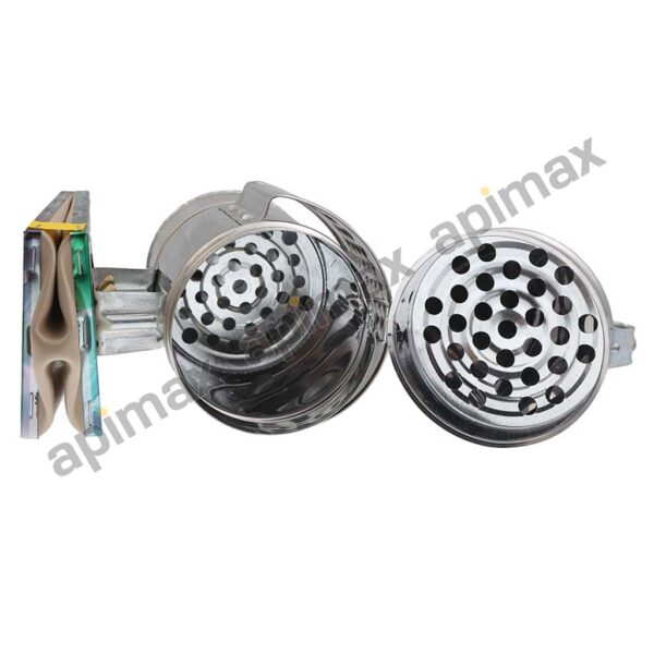 Καπνιστήρι INOX με Κασετίνα Φ10 Apimax