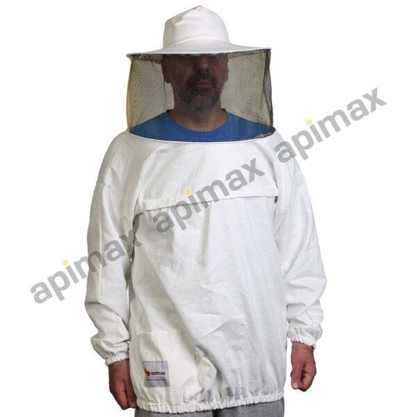 Unisex Μελισσοκομική Μπλούζα με Μάσκα-Προσωπίδα Apimax