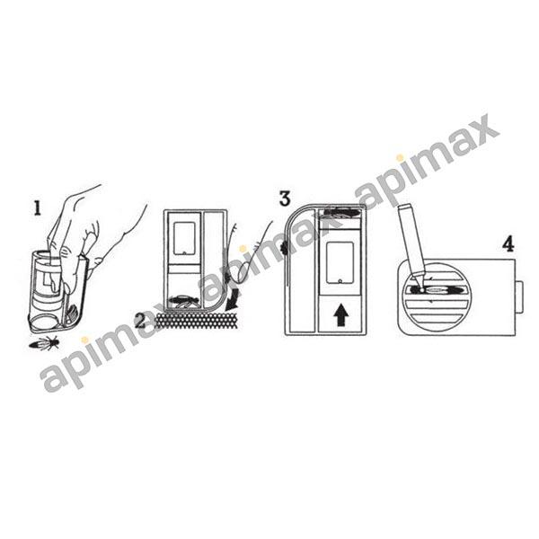 Συσκευή Εγκλωβισμού & Μαρκαρίσματος Βασίλισσας – ONE HAND Apimax