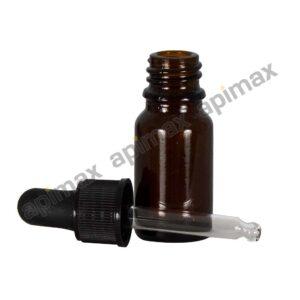 Φιαλίδιο Γυάλινο 10ml με Σταγονόμετρο Apimax