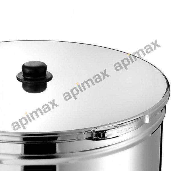 APIMAX Ανοξείδωτο Δοχείο INOX, για τρόφιμα, κρασί, λάδι, γάλα, κ.α.