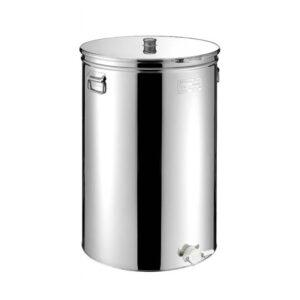 Δοχείο ΙΝΟΧ Μελιού 33ltr-46kgr με Κάνουλα 38M-33 METALBOX