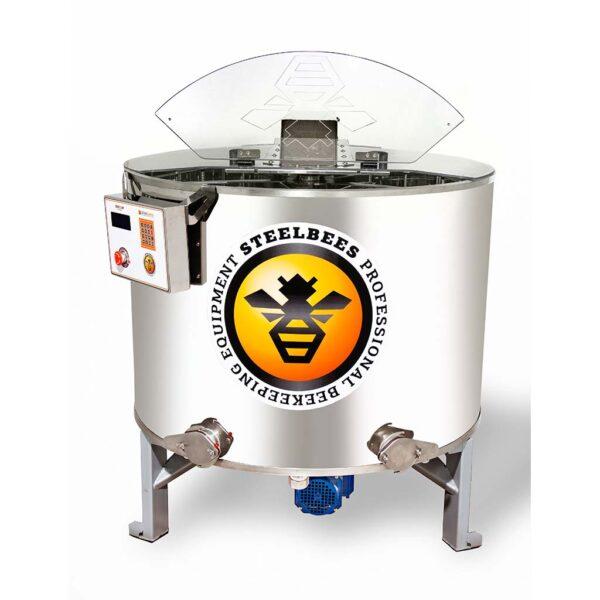 Μελιτοεξαγωγέας 6 Πλαισίων PRO STEEL BEES