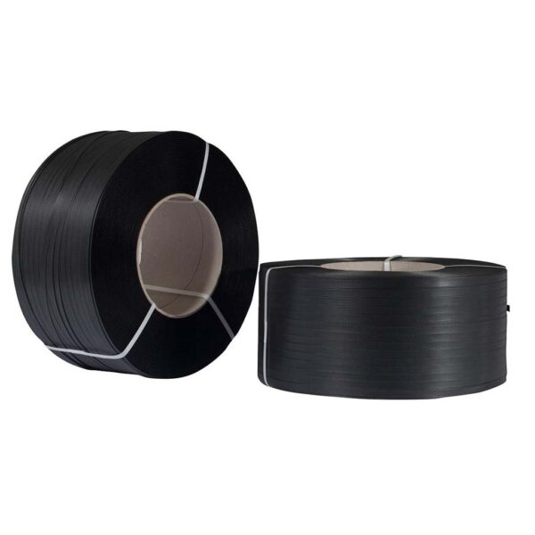Πλαστικό Τσέρκι Συσκευασίας (PP) Μαύρο 12mmX0,80mm Ρολό 2000m