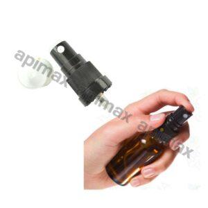 Φιαλίδιο Γυάλινο Καραμελέ με Πώμα Τύπου Σπρέϊ (Sprayer) Apimax