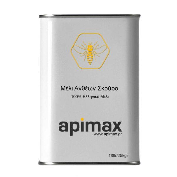 Αγνό Μέλι Ανθέων Σκουρόχρωμο 18ltr/25kgr APIMAX