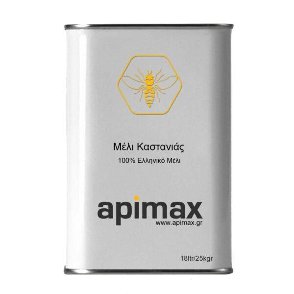 Αγνό Μέλι Καστανιάς 18ltr/25kgr APIMAX