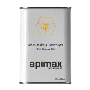 Μέλι Πεύκο & Ερείκη (Σουσούρα)18ltr/25kgr APIMAX