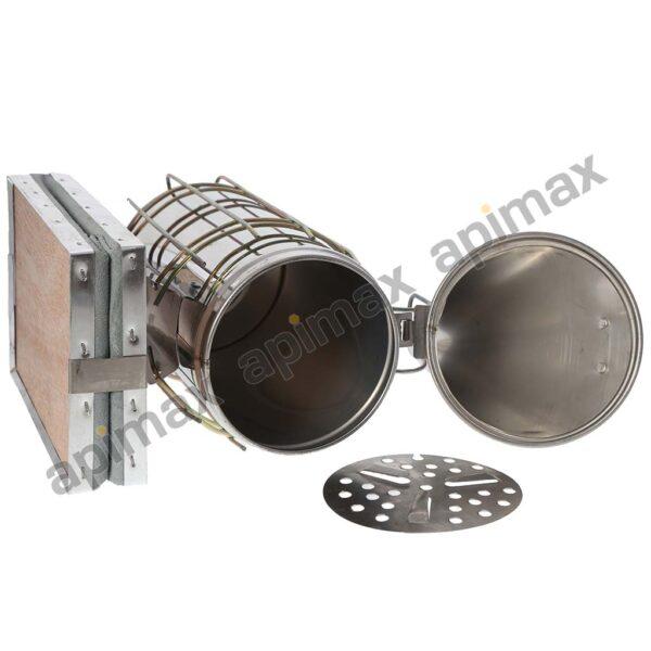 Καπνιστήρι INOX με Κασετίνα Apimax