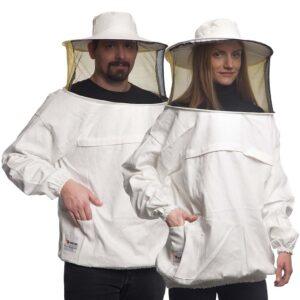 Unisex Μελισσοκομική Μπλούζα με Μάσκα-Προσωπίδα CARGO Apimax Εκρού