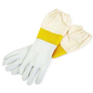 Μελισσοκομικά Δερμάτινα Γάντια Αεριζόμενα Apimax